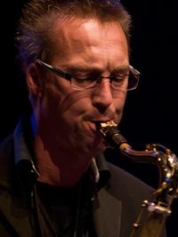 Saxofonist Jaap Winder